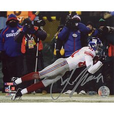 Amani Toomer NFC Championship Game Diving Catch Autographed Photograph