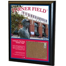 Turner Field 8x10 Dirt Plaque