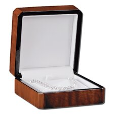 Emerald Earring Pendant Presentation Box