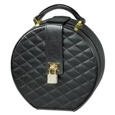 Black Diamond Round Travel Case