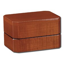 Emerald Double Ring Jewelry Box