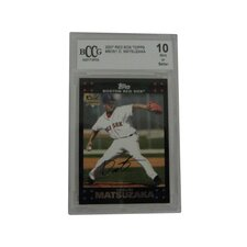 MLB 2007 Topps Matsuzaka Graded Trading Card - Boston Red Sox