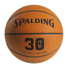 NBA 30th Anniversary Leather Basketball