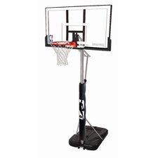 "52"" Portable Acrylic Basketball System"