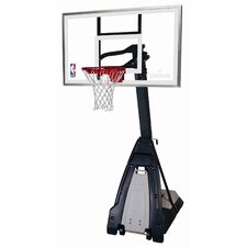"The Beast 60"" Portable Glass Basketball System"