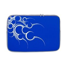 "N Line Tribal Pattern 16"" Neoprene Sleeve in Royal Blue"