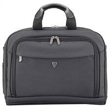 Altitude Series Single Gusset Black Laptop Briefcase