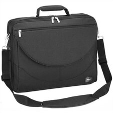 Black Large Expandable Laptop Briefcase
