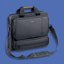 Classic Series Black Nylon Lite Metro Briefcase