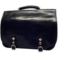 Verona Comano Leather Laptop Briefcase