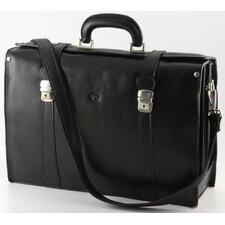 Verona Tomasi Leather Laptop Briefcase