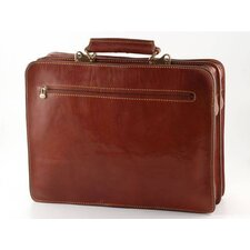 Verona Venezia Leather Laptop Briefcase