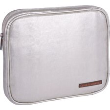 "Carmen 9"" - 11"" iPad/Netbook Sleeve in Metallic Ivory"