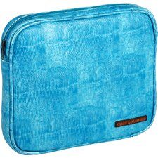"<strong>Clark & Mayfield</strong> Carmen 9"" - 11"" iPad/Netbook Sleeve in Turquoise Blue"