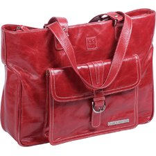 Stafford Vintage Leather Laptop Tote
