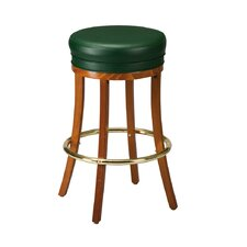 "Fine Beechwood 30"" Bar Stool with Cushion"