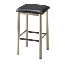 "Steel Square 30"" Backless Barstool"