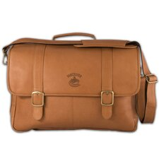 NHL Porthole Laptop Leather Briefcase