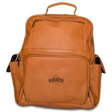 MLB Leather Computer Backpack