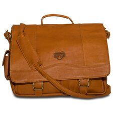 MLB Porthole Leather Laptop Briefcase