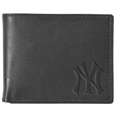 <strong>Pangea Brands</strong> MLB Black Leather Wallet