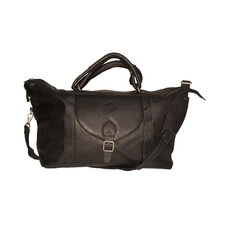 "MLB 25"" Leather Top Zip Travel Duffel"