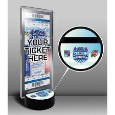 2014 NHL Stadium Series Ticket Display Stand