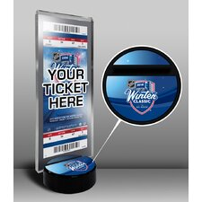 2014 NHL Winter Classic Maple Leafs vs Red Wings Ticket Display Stand