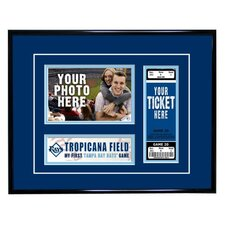 MLB My First Game Ticket Frame