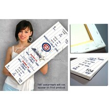 MLB Kerry Wood 20K Game Mega Ticket - Chicago Cubs
