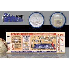 MLB 1966 All-Star Game Mini Mega Ticket - St Louis Cardinals