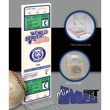 MLB 1984 World Series Mini Mega Ticket - Detroit Tigers