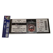MLB 2008 Final Game in Shea Stadium Mini Mega Ticket - New York Mets