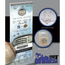 MLB 2008 Final Game in Yankee Stadium Mini Mega Ticket - New York Yankees
