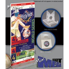 MLB 1999 World Series Mini Mega Ticket - New York Yankees