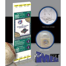 MLB 1993 World Series Mini Mega Tickets - Toronto Blue Jays