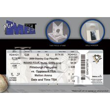 NHL 2009 Stanley Cup Mini Mega Ticket - Pittsburgh Penguins