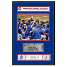 MLB Carlos Zambrano No-Hitter Ticket Frame - Chicago Cubs
