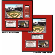 MLB Minute Maid Park Ballpark Ticket Frame - Houston Astros