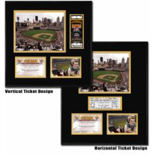 MLB PNC Park - Ballpark Ticket Frame - Pittsburgh Pirates