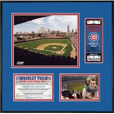 MLB That's My Ticket Wrigley Field Ticket Frame (Horizontal) - Chicago Cubs