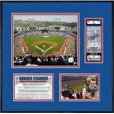 MLB That's My Ticket Dodger Stadium Ticket Frame (Horizontal) - LA Dodgers