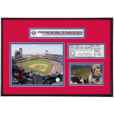 MLB Citizens Bank Park Ticket Frame - Philadelphia Phillies