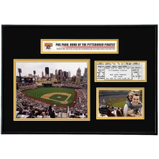 MLB PNC Park Ticket Frame Horizontal - Pittsburgh Pirates