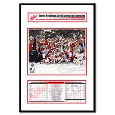 NHL 2008 Stanley Cup Champions Frame Team Celebration - Detroit Red Wings