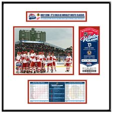 NHL Winter Classic Ticket Frame Jr. - Team Celebration - Detroit Red Wings