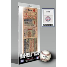 1939 MLB World Series New York Yankees Mini Mega Tickets