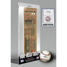 1941 MLB World Series New York Yankees Mini Mega Tickets