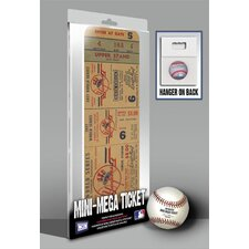 1947 MLB World Series New York Yankees Mini Mega Ticket