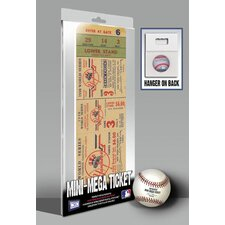 <strong>That's My Ticket</strong> 1950 MLB World Series New York Yankees Mini Mega Tickets